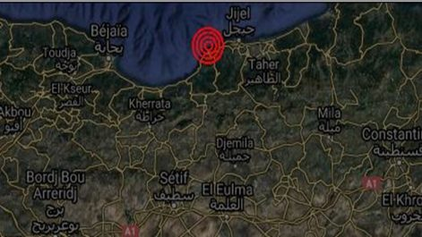 Secousse tellurique de magnitude 4.9 à Jijel : la Protection Civile rassure