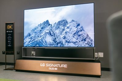 LG OLED TV donne une nouvelle dimension à la 8K