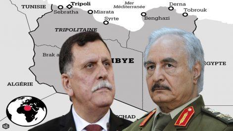 Crise libyenne : Al-Sarraj et Haftar attendus aujourd'hui à Moscou