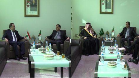 Rezig reçoit les ambassadeurs saoudien et libanais