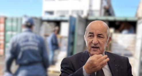 Tebboune veut interdire l'importation des produits fabriqués localement