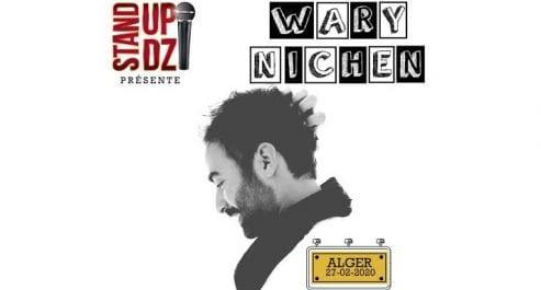 Wary Nichen sur scène en Algérie