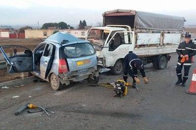 Accident de circulation  : 10 morts en 48 heures