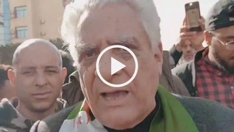 Me Bouchachi : «Notre lutte est pour une Algérie libre»