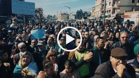 53e vendredi : Les rues de Béjaïa noires de monde