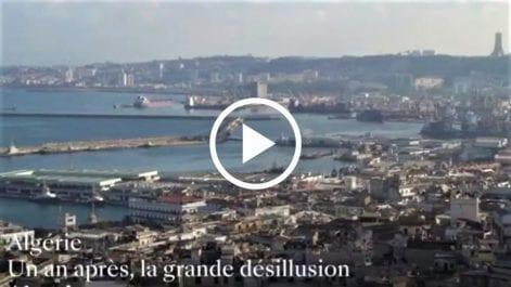 Vidéo   «Un an après, la grande désillusion», le reportage d'Arte sur le Hirak
