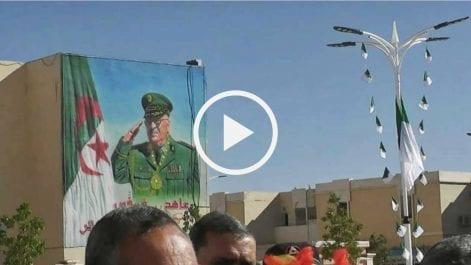 Voila comment des habitants de Naâma ont célébré l'anniversaire du Hirak