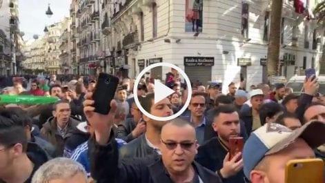 53e vendredi : Les manifestants sont déjà dans la rue à Alger