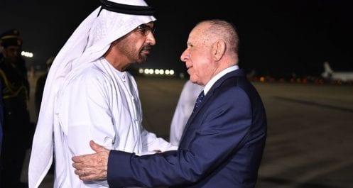 Photos | Chengriha poursuit sa visite aux Émirats arabes unis