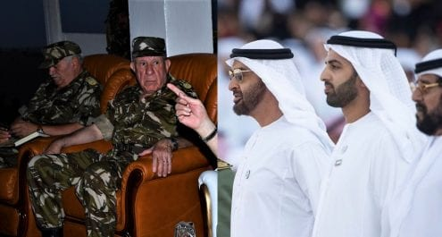 Saïd Chengriha en visite aux Émirats arabes unis