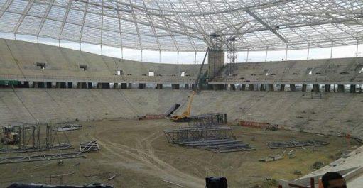 Retard dans la réalisation du stade de Baraki