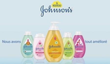Johnson's réinvente la douceur avec des produits nouvelle formule sans parabènes, sans colorants,sansphtalates ni sulfates