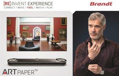 Brandt réinvente l'expérience télévisuelle et lance une nouvelle gamme de téléviseurs dernière génération