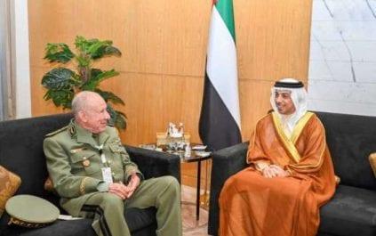 Said Chengriha rencontre Mansour ben Zayed à Abu Dhabi