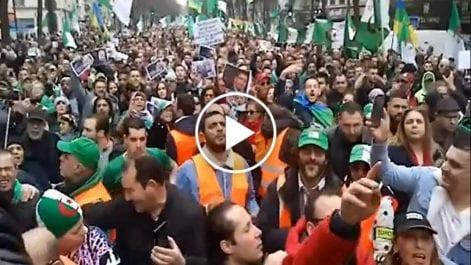 Vidéo | La diaspora algérienne en France au rendez-vous du 1er anniversaire du Hirak