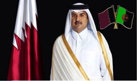 L'émir du Qatar demain en Algérie