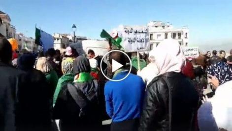 Vidéo | Célébration du 1er anniversaire du Hirak à Constantine