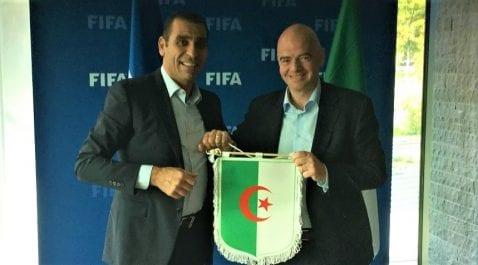 CAN : Zetchi adopte la proposition du président de la FIFA