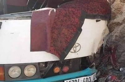 1 mort et 26 blessés dans un accident de bus à Relizane