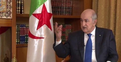 Tebboune : «l'Algérie entretient de bonnes relations avec les Emirats Arabes Unis et l'Egypte»