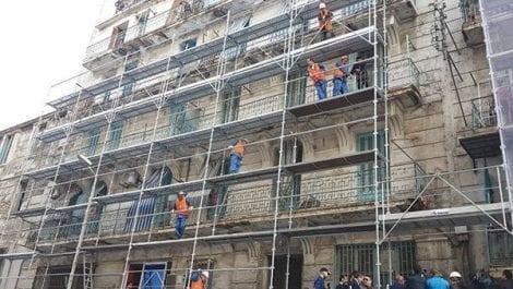 Alger centre : Les travaux de réhabilitation ont atteint 50 % dans la rue Tanger