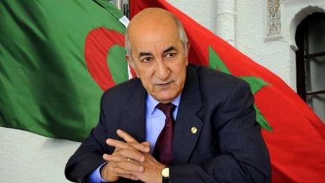 Tebboune s'exprime sur la fermeture des frontières terrestres avec le Maroc