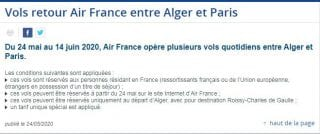Air France annonce 4 vols quotidiens entre Alger et Paris Capture-9-320x134